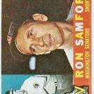 1960 Topps 409 Ron Samford
