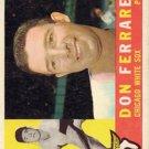 1960 Topps 477 Don Ferrarese