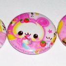 Animal Bakery, japanese kawaii pinback set
