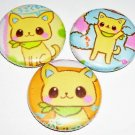 Chihuahua, japanese pin pinback button badge set