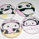 San-X Tarepanda, japanese pin pinback button badge set