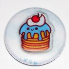 Blueberry Cake - japanese kawaii button magnet