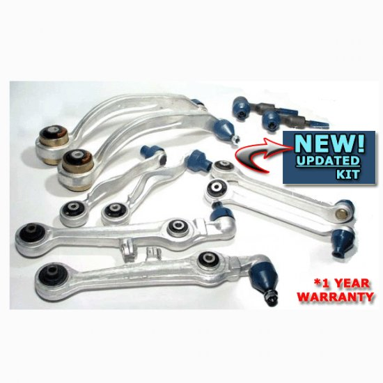 NEW AUDI A4 A6 PASSAT 10 Pc CONTROL ARM Suspension Kit