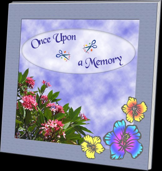 Digital Scrapbook Sample