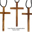 """Your Name Engraved - OliveWood Pendants Size: 4"""" x 2.25"""""""