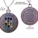 "High Priest Chestpiece Necklace (Circle) with 20"" Stainless Steel Chain included"