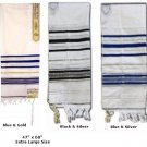 "Prayer Shawls (Tallit) Size: 47"" Long x 68"" (Largest Size)"