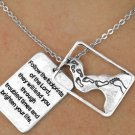 Follow the Footprints of the Lord Charm and Necklace