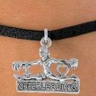 "I Love Cheerleading"" Charm - Choose Bracelet - 4 Options"