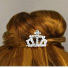 Miniature Tiara Comb Set Flower Girl