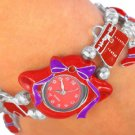 Red Hat Watch with Red Hat Charms