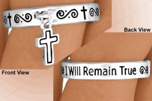 "Purity Ring - True Love Waits ""I Will Remain True"" Abstinence Ring Message"