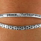 Love Joy Peace Forbearance Kindness Goodness Faithfulness Gentleness Self-Control Bracelet