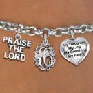 Sweet 16 Praise The Lord Themed Charm Bracelet