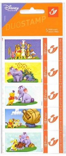 Winnie the Pooh Disney Stamps Elephant Butterfly Butterflies Belgium Mnh