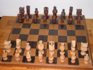 Chinese Wood Chess Set