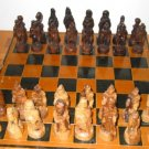 Isreali Olive Wood Chess Set