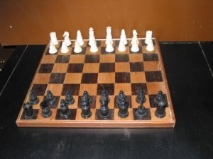 Russian Plastic Chess Set