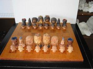 Swedish Trolls Chess Set - Italian Ceramic