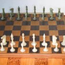 Tung Jade & Soapstone Chess Set