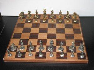 Napolean Brass Chess Set