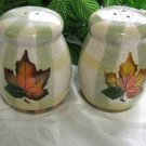 WBT Fall Leaves Salt Pepper Shakers