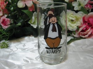 Wimpy Kollect-A-Set Glass Coca Cola