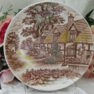English Cottage World Wide Quality Plate