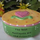 Tumbleweed Pottery Sentiment Blessings Box