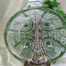 Indiana Glass Killarney Clear Relish Dish