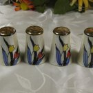 Lusterware Salt Pepper Shakers Japan