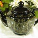 Moriage Teapot Black