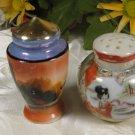 Lusterware Mixed Salt Pepper Shakers Vintage