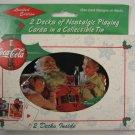 Coca Cola Collectable Tin Playing Cards Tin 1999