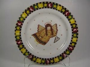 Gathering of Angels Plate 1 Debbie Mumm Sakura