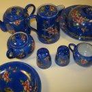 N&Co Nagoya Child Porcelain Tea Set Japan 13 pc