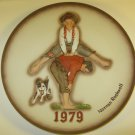 Norman Rockwell Leapfrog Collector Plate