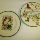 Tre Ci Mother Decorative Plate Set Italy