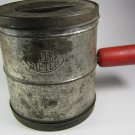 Duplex Sifter 5 Cup Vintage Red Handle
