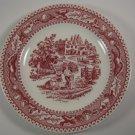 Royal Memory Lane B&B Plate Pink