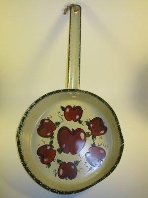 Decorated Lustre Skillet Apples