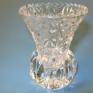 Princess House Lead Crystal Toothpick Holder Vase