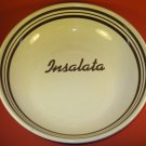 Insalata Industria Ceramic Bowl Italy