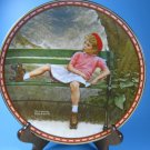 Breaking the Rules Rockwell Studies of Girlhood Plate COA