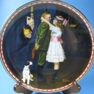 Kiss and Tell Rockwell Studies of Girlhood Plate COA