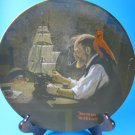 Ship Builder Rockwell Heritage Collection Plate COA