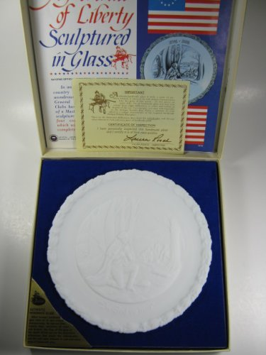 Fenton Colonial White Milk Glass In God We Trust Plate