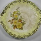 Leigh Ware Rose of Sharon Cake Plate 22K Gold