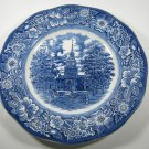 Liberty Blue Independence Hall Plate Staffordshire