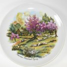 American Homestead Spring Currier & Ives Plate